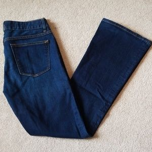 Gap perfect boot jeans size 27R